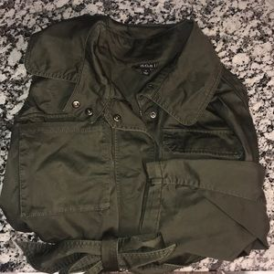 Army green jacket!!